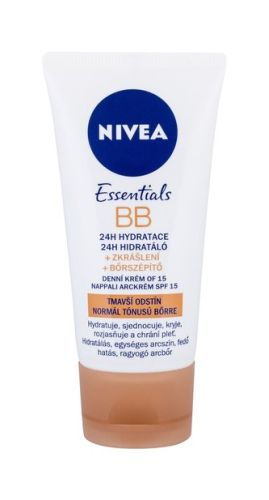 Nivea BB Cream BB krém 5in1 Beautifying Moisturizer 50 ml Medium To Dark SPF15