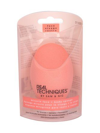 Real Techniques Sponges Aplikátor Miracle Face + Body 1 ks pro ženy