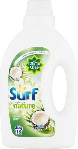 Surf nature prací gel Coconut Splash, 18 PD 900 ml