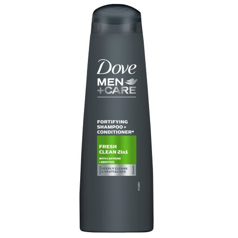 Dove Men+Care FreshClean 2v1 šampon 400ml