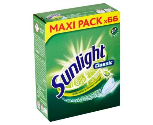 Sunlight Classic tablety do myčky 66ks