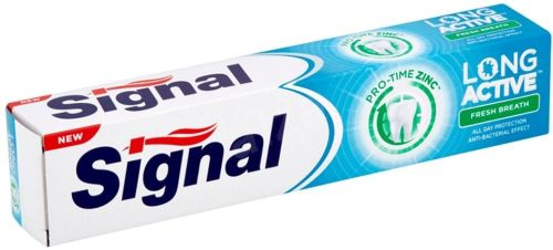 Signal zubní pasta Long Active Fresh Breath 75ml