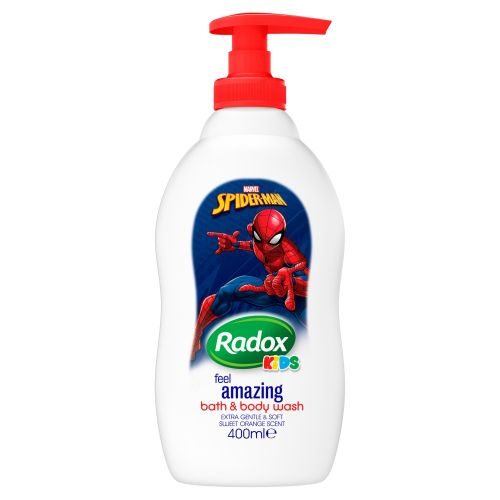 Radox sprchový gel Kids Spiderman 400 ml