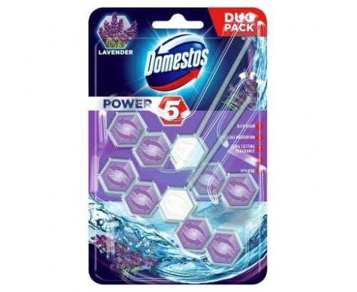 Domestos Power 5 Lavender 2x55g