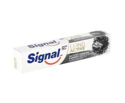 Signal Long Active Nature Charcoal zubní pasta 75 ml