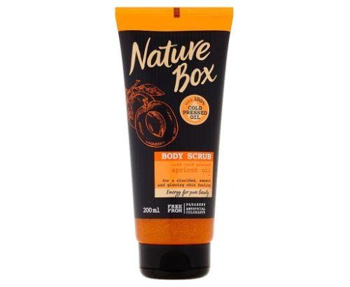Nature Box tělový peeling 200ml Apricot