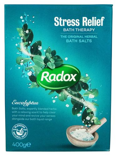 Radox sůl do koupele Stress Rel. 400g
